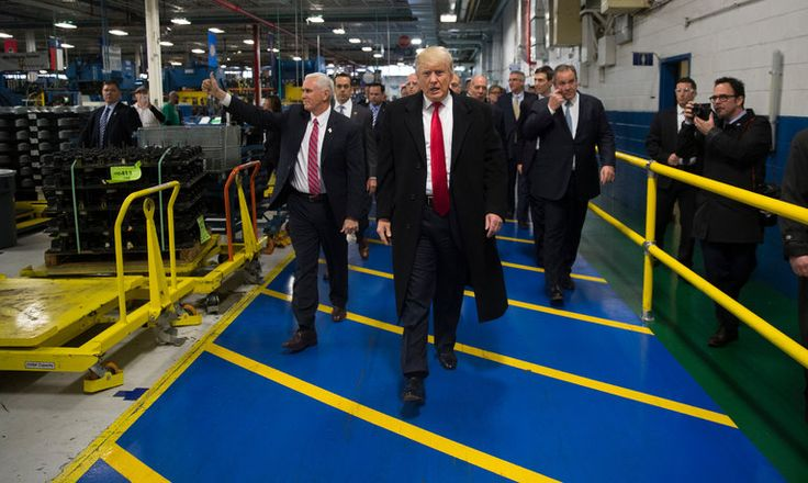 """""""Donald J. Trump was in Indiana to celebrate the news that the Carrier Corporation will move only 1,300 jobs to Mexico, not 2,100 as planned. That's not bringing jobs back to the U.S.; they are just leaving more slowly,"""""""