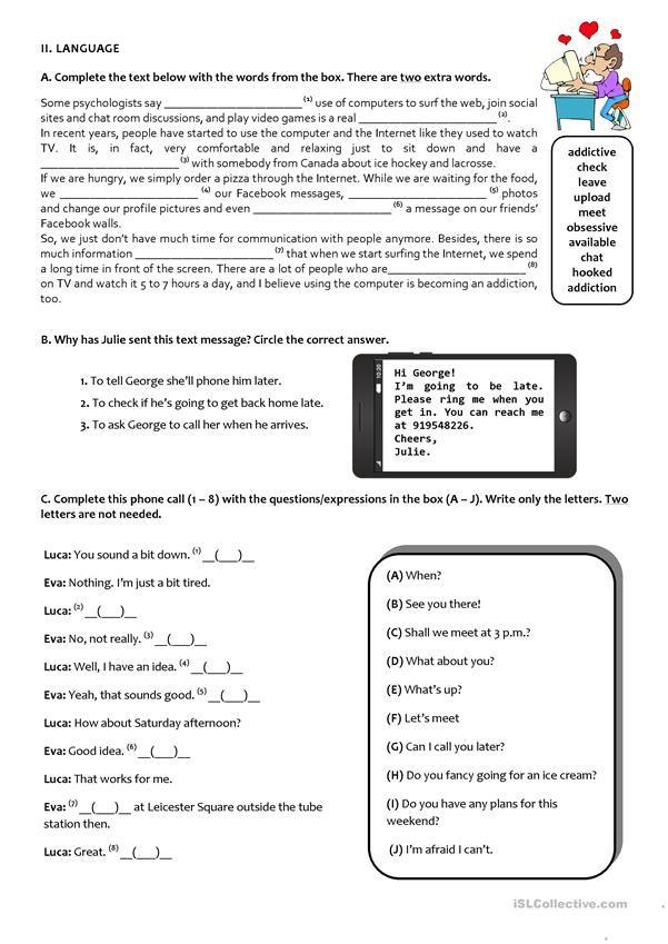 Pin On Exams 9th grade language arts worksheets