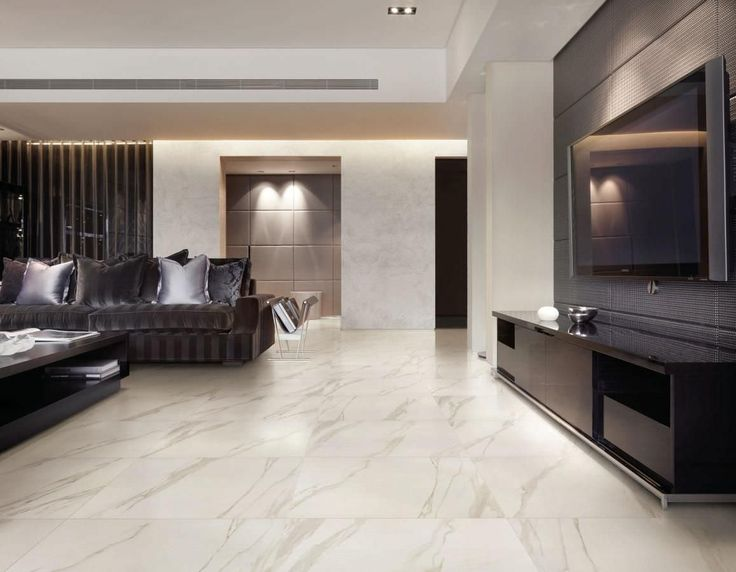 Indoor tile / floor / porcelain stoneware  / stone look SELECTION FLOOR : CALACATTA CERAMICHE SUPERGRES