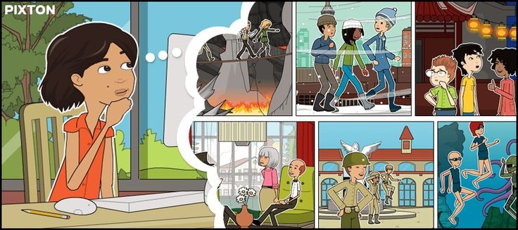 Pixton | The world's most popular and easy to use comic and storyboard creator.