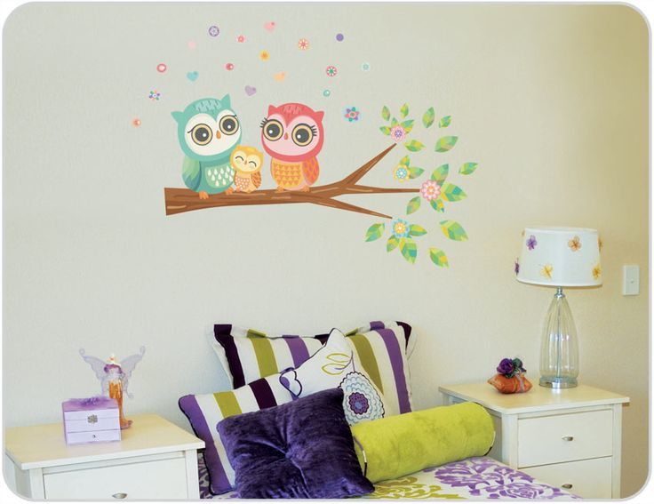 Owl Wall Stickers | Owl Decals