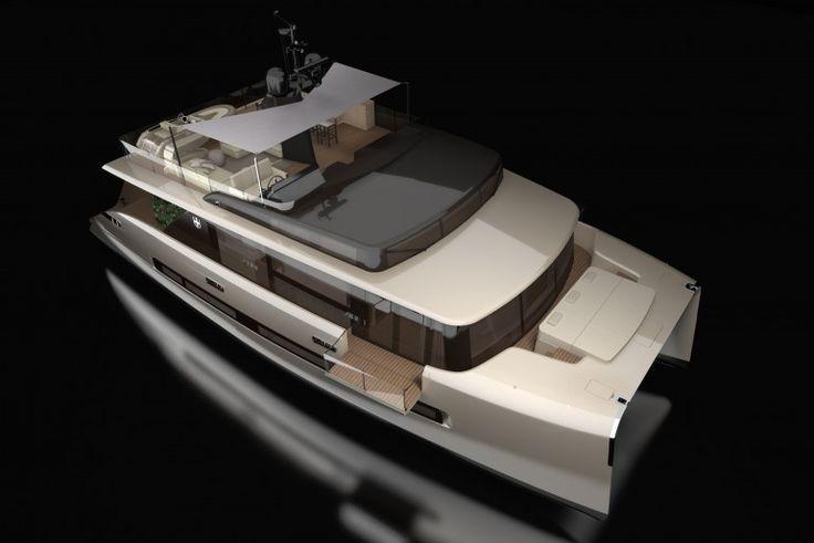 Luxury catamaran concept features glass-bottom master bedroom - Images
