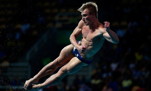 Laugher claims silver for Team GB in men's 3m springboard