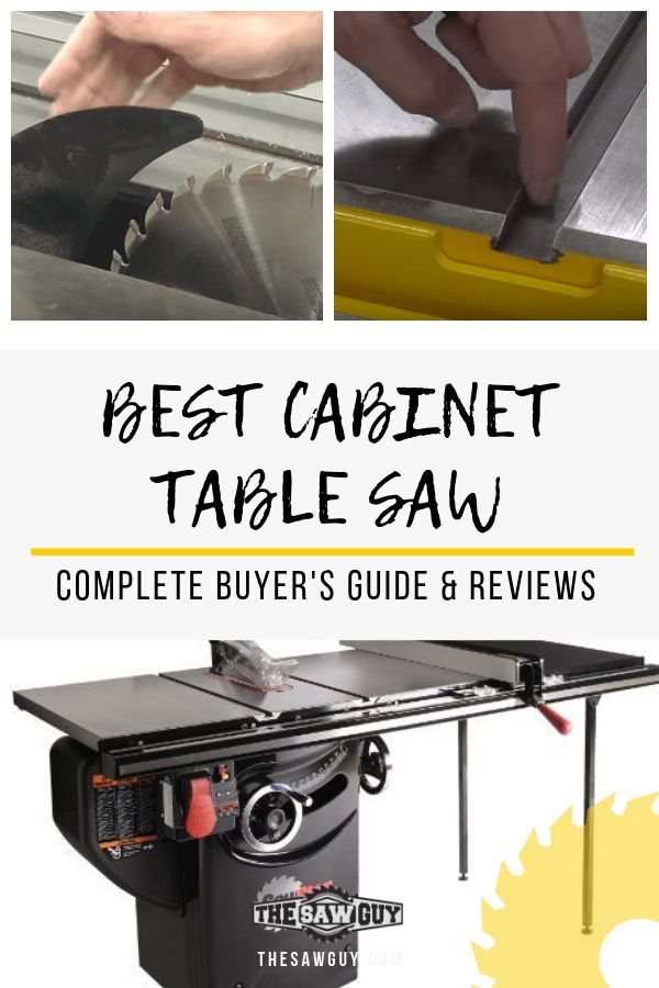 Best Cabinet Table Saws 2020 Ultimate Buyer S Guide With Images Table Saw Best Table Saw Cabinet Table Saw