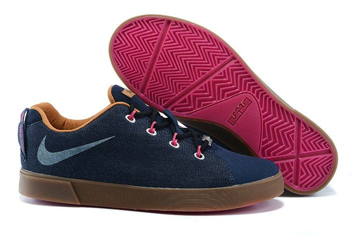 super popular 11aa1 9cb91 2015 Fashion Nike LeBron 12 (XII) NSW Lifestyle Low Tops Casual Shoes Blue