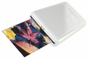 Polaroid - ZIP Mobile Printer - White - Larger Front