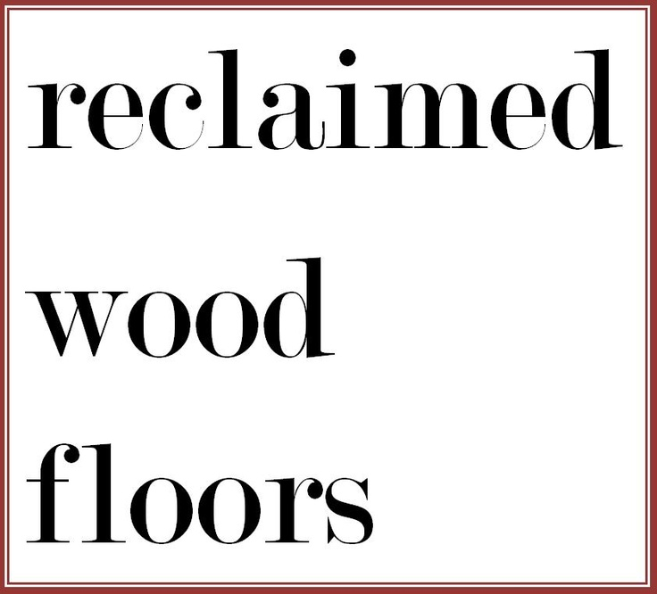 From old wine barrels to repurposed whisky barrels and from old pallet material to rustic barn siding old hardwood material is being re-born into great floors.  Great post on reclaimed material at woodflooringtrends.com http://bit.ly/yubyAt