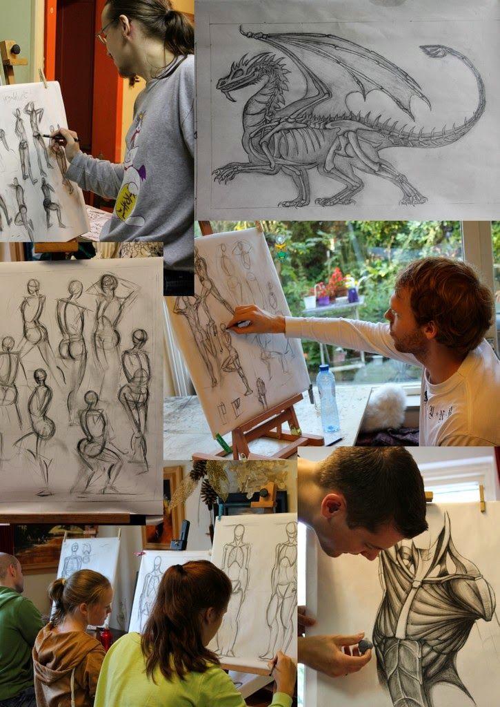 Tips voor je tekening: Figuren tekenen en anatomie aan De tekenacademie