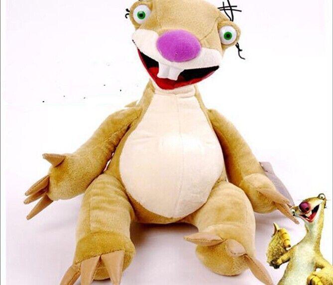 Кино и тв ледниковый период 23 см ленивец плюшевые игрушки ленивец сид кукла один комплект / 5 шт. подарок w4225