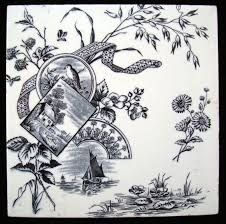 Image result for Antique Aesthetic Movement CHINOISERIE MINTON HOLLINS