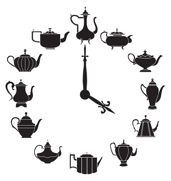 Tea Time Art Print by Kate Anthony   Society6