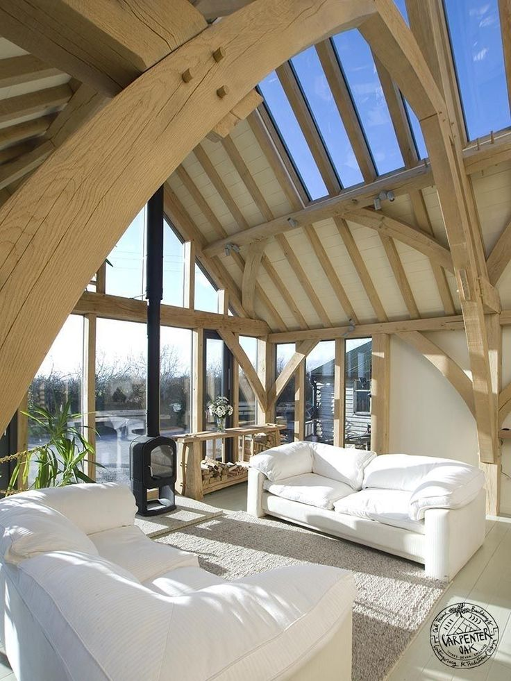 173 Best Interior Photos Of Timber Frames Images On Pinterest