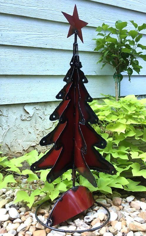Best 25 Metal Christmas Tree Ideas On Pinterest