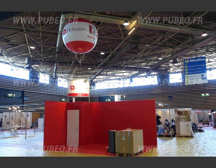 Stand Hollister au Salon Handica  lEurexpo de Lyon  Produits publicitaire cres chez PUBEOfr