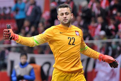 Lukasz Fabianski UEFA Euro 2016 Qualifying (Poland vs Ireland). Copyright B&O Press Photo