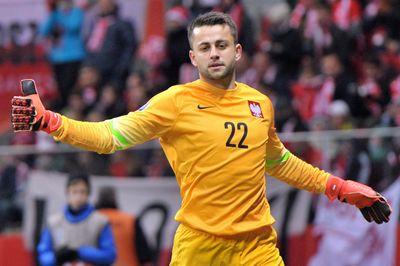 Lukasz Fabianski UEFA Euro 2016 Qualifying (Poland vs Ireland). Copyright B&O Press Photo
