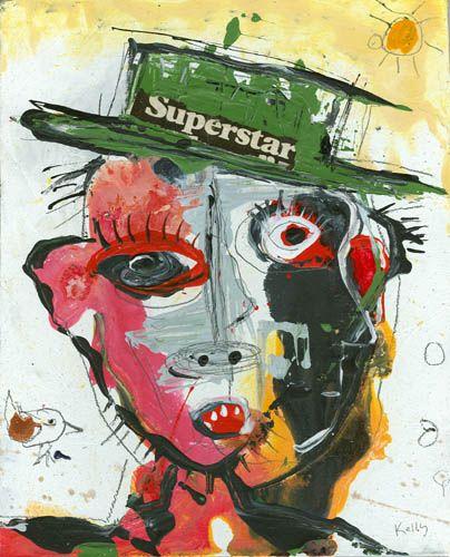"""""""SuperStar"""" by Santa fe Artist Kelly Moore www.kellymoore.net"""
