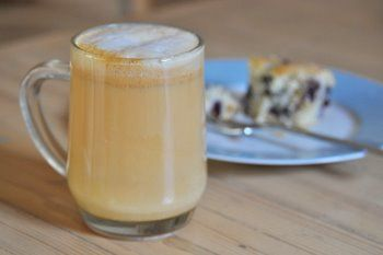 I've been on a tea latte kick lately and turning at least half of my cups of tea into latte versions. To do this, all you really need to do is add some sweetener and steamed milk to the drink…