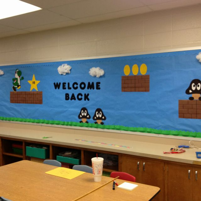 School Classroom Decor Games : Best game classroom images on pinterest super mario