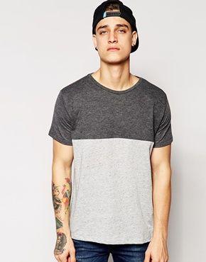 mens unique cut and sew tshirt designs - Google Search