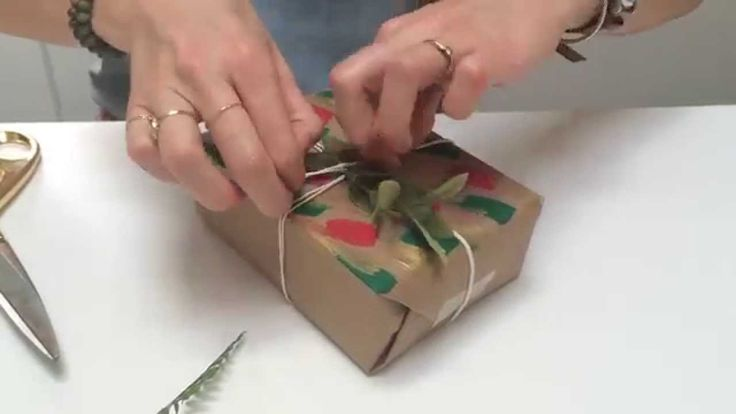 27 best videos i love images on pinterest art inspo basket and diy holiday gift wrap solutioingenieria Gallery