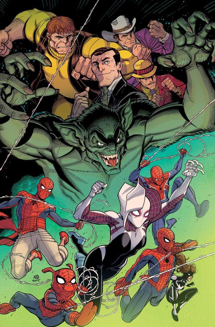 SPIDER-VERSE #4 -  MICHAEL COSTA (w) • ANDRE ARAUJO (a) Cover by NICK BRADSHAW