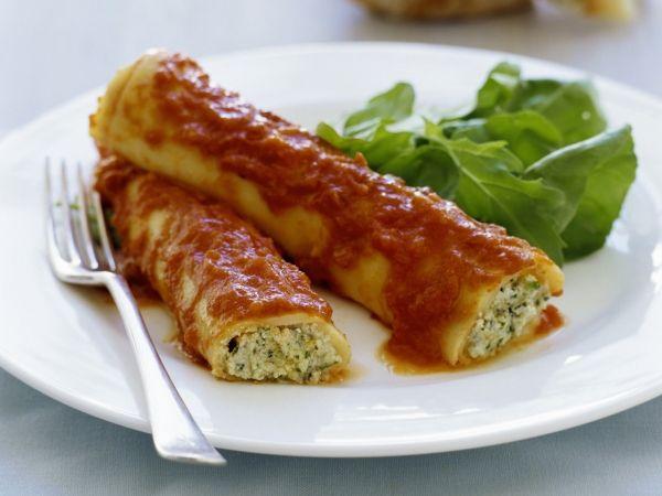 Cannelloni met spinazie en ricotta - Libelle Lekker!