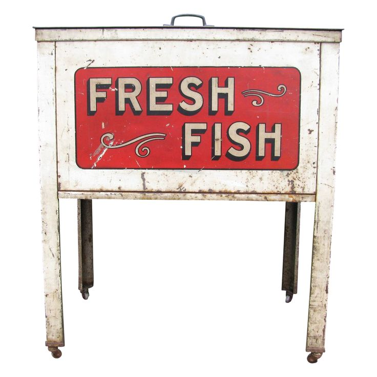 17 best images about country store display on pinterest for Fresh fish store