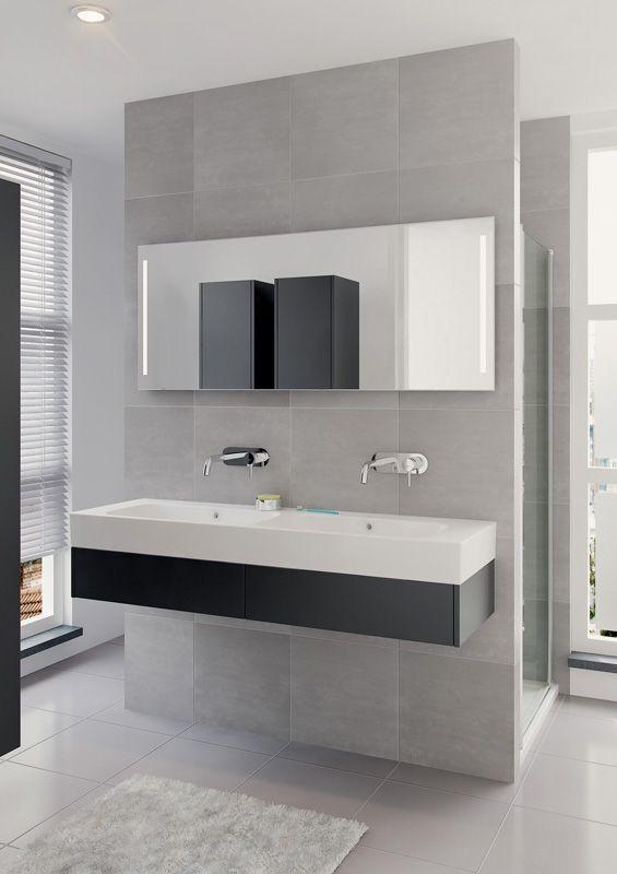 Bruynzeel Uno 150cm // badmeubel badkamer sanitair / bathroom furniture cabinet / meuble salle de bain / design