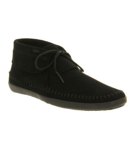 9585925930 Vans Womens Mohikan Fleece Moccasin Loafers Black 11 Style VN-0QGD1CK.  Loafers. Moccasin. 80% Leather 20% Rubber.  Vans  Sports