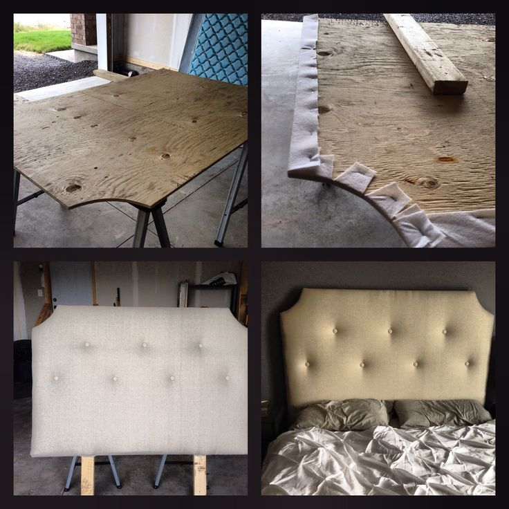 DIY tufted upholstered headboard & 1000+ images about DIY headboards on Pinterest | Other Easy diy ... pillowsntoast.com
