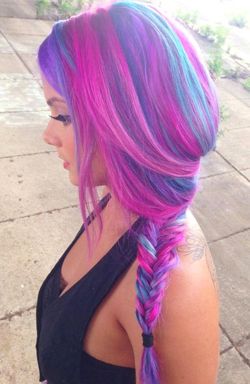 50 Sweeet Cotton Candy Hair Ideas That Are As Aye pleasing As Can Be #cotton #candy #hair #pink #pastels