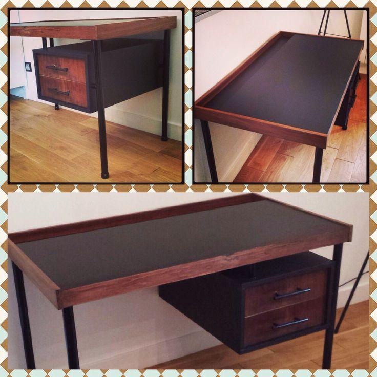 Bureau / Table à dessiner des années 70 - A vendre (prochainement sur le blog)