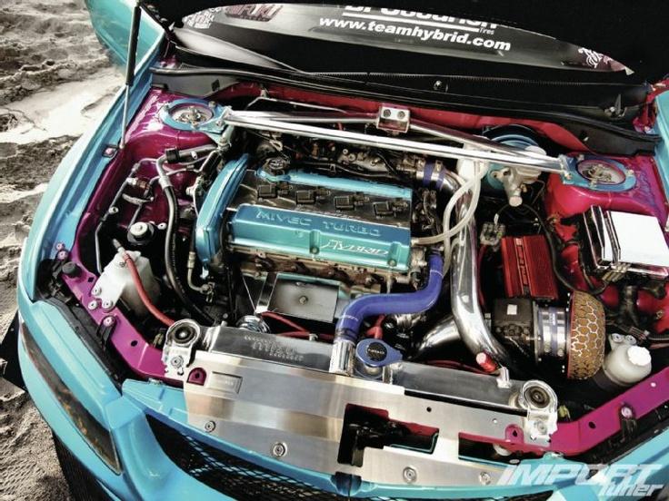Mitsubishi Lancer Evo Ix Engine Vehicles Pinterest