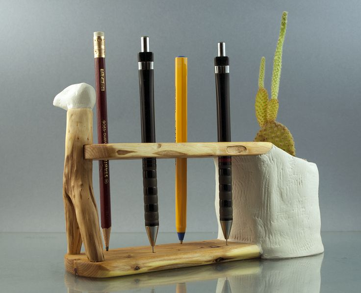 Pencil Holder made oj juniper by morgod
