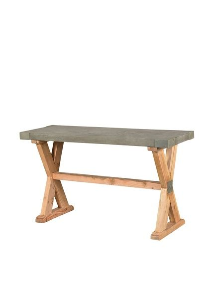 CDI Furniture International Concrete Console Table, Brown/Grey, http://www.myhabit.com/redirect/ref=qd_sw_dp_pi_li?url=http%3A%2F%2Fwww.myhabit.com%2Fdp%2FB00MWSUDXC