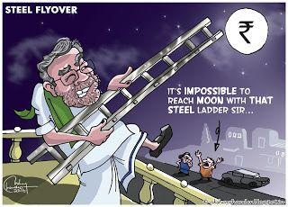 Justoon: Bengaluru steel flyover 'Beda'