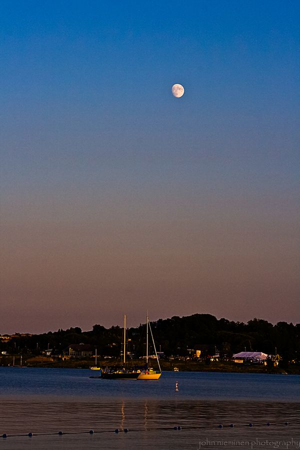 Sailboats at Sunset, Barrie, Ontario | by John Nieminen, via 500px