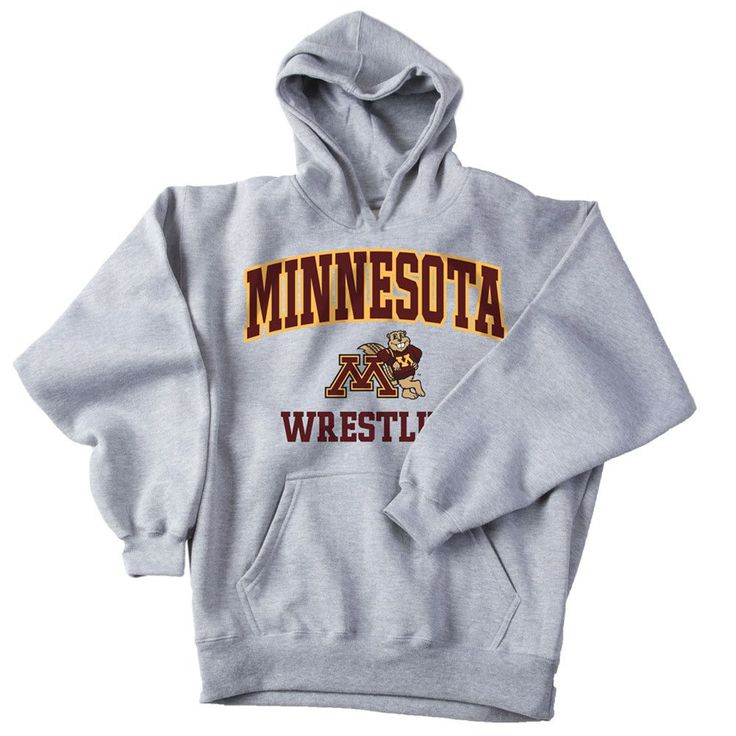 J America University of Minnesota Wrestling Hoodie