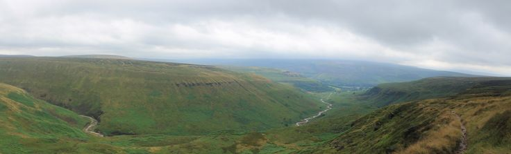 Valley Climbing out of Crowden - Day 2