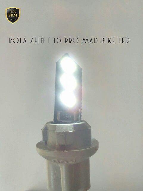 Bola Sein T10 Pro Mad Bike LED IDR 35.000,-/Set