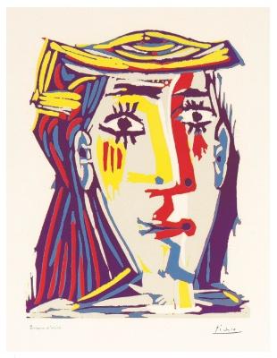 Pablo Picasso - Femme au Chapeau