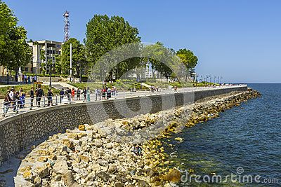 Seawall In Constanta, Romania - Download From Over 24 Million High Quality Stock Photos, Images, Vectors. Sign up for FREE today. Image: 41275329