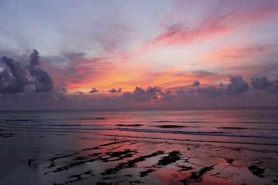 Uluwatu at Dusk The Pink of the Day: Fine Art Photography
