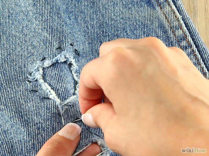 Titel afbeelding Make Distressed Jeans Step 9