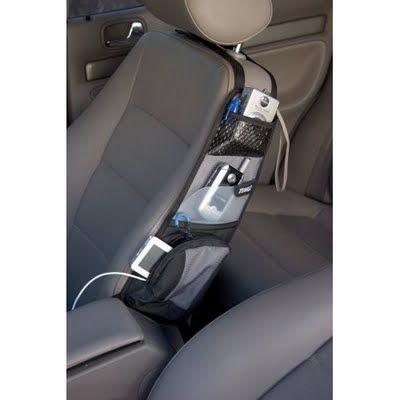 Car Organization Ideas - I like the idea of this side-pocket holder.