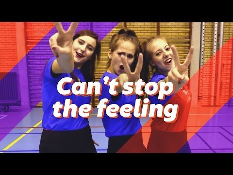 """""""CAN'T STOP THE FEELING"""" - Justin Timberlake - Easy dance moves - Dansstudio Sarah Choreography - YouTube"""