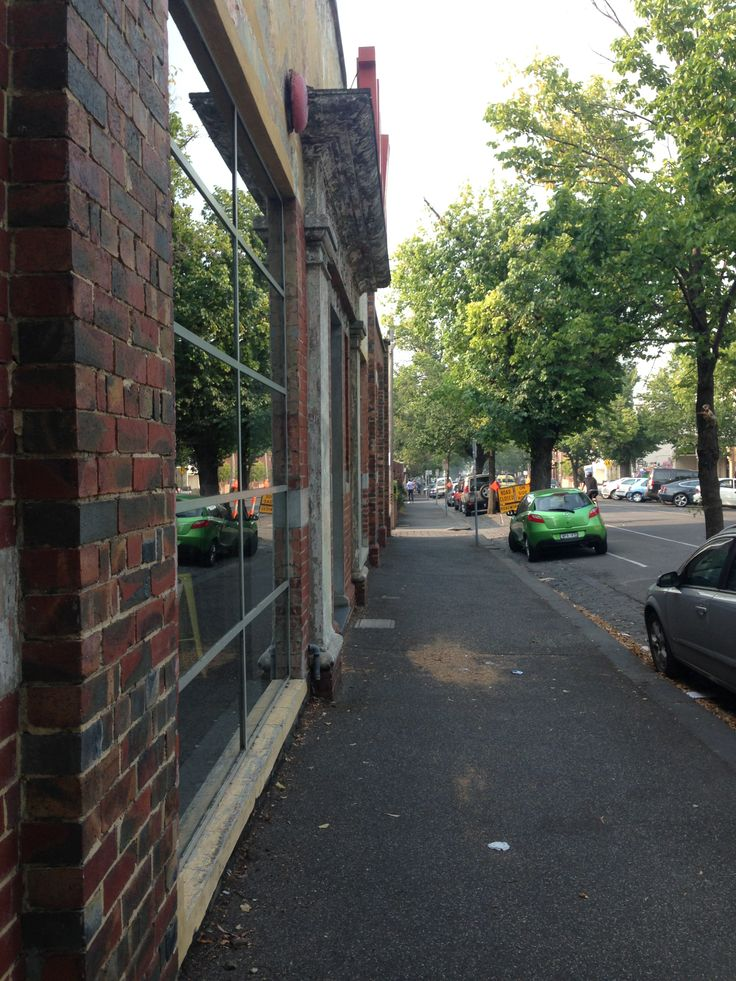 In #Fitzroy, #Melbourne, the buildings and #trees make a beautiful #streetscape.