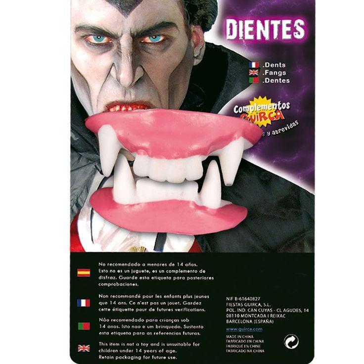 Dientes de Vampiro #dentadurasdisfraz  #accesoriosdisfraz #accesoriosphotocall