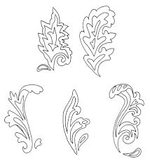 Image result for leather tooling tracing patterns